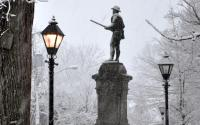 Court Square Snow