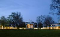 UVA Lawn at Night