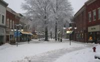 Downtown Mall Snow