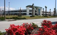 Parking garage at the Gulfport-Biloxi International Airport