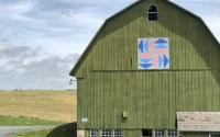 Edgeley Grove Barn Quilt
