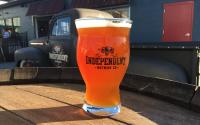 Independent Brewing Co Beer Glass