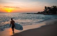 paddle board sunrise palmilla