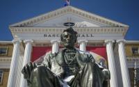Abe Statue: Bascom Hall