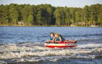 Tubing on Lake Sinclair