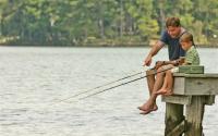 Fishing at Lake Sinclair