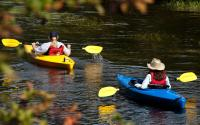 Kayaking-Saranac River