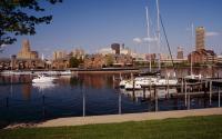 Buffalo Skyline and Waterfront
