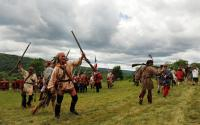 French & Indian War reenactment at Fort Ticonderoga