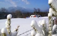 Algonquin Mountain and Red Barn off Adirondack LOJ Road outside Lake Placid