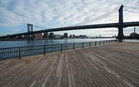 Manhattan Bridge from Empire-Fulton Ferry State Park