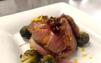 OBX Holiday Recipe | Pan-Seared Duck w/Roasted Brussels