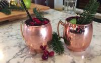 OBX Holiday Recipe | Cranberry Honey Mule