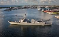 U.S.S. Paul Ignatius is one of the newest battle ships in the U.S. Navy's fleet.