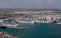 Panoramic of Port Everglades