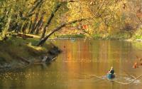 Wildcat Creek Canoeing Fall