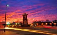 Delano Street Sunset
