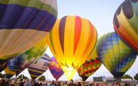 Colorado River Crossing Balloon Festival in Yuma, Arizona