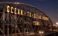 Ocean to Ocean Bridge in Yuma, Arizona