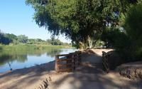 West Wetlands Park at the Colorado River by Bill Moody