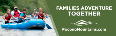 2021 Summer Co/Op ~ Billboards ~ Whitewater Rafting ~ PoconoMountains.com