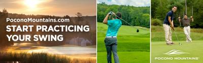 2021 Summer Co/Op ~ Billboards ~ Golf PoconoMountains.com