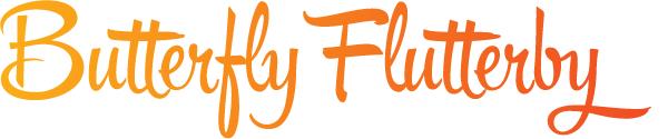 Butterfly Flutterby Banner