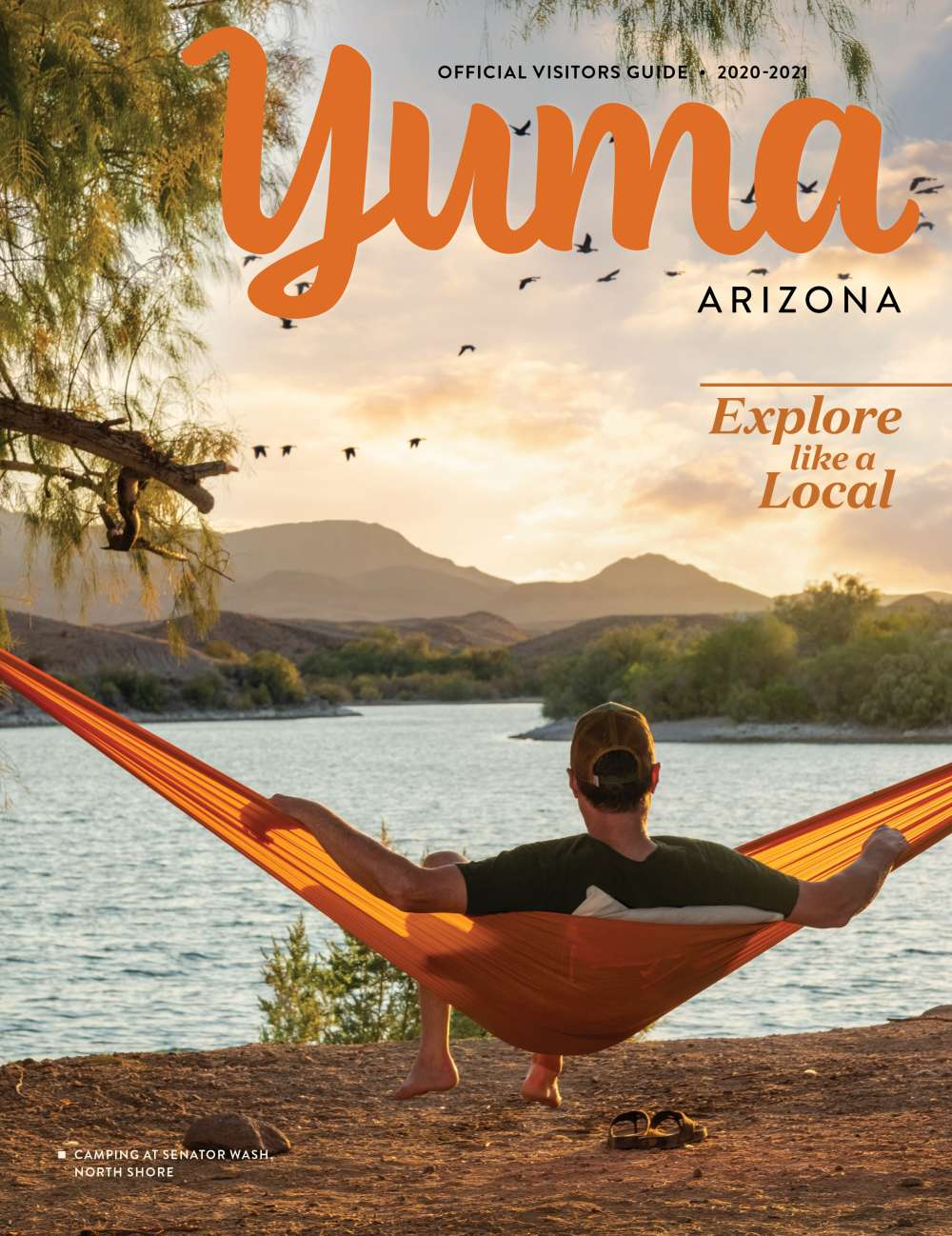 Yuma's Official Visitors Guide 2020 Cover