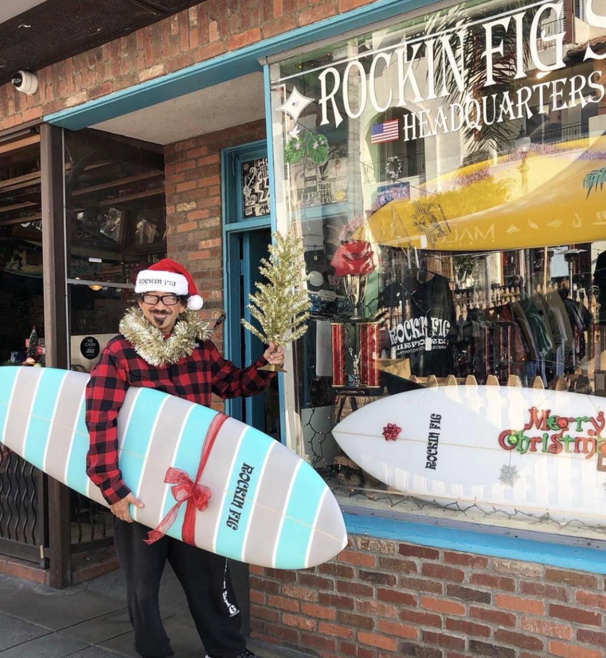 Rockin' Fig Surf Headquarters in Huntington Beach