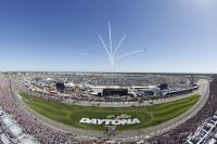 Birds eye view of Daytona International Speedway