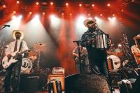 The Squeezebox Bandits perform a live set of their unique Texas music