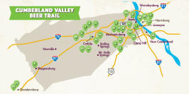 Beer Trail Map Fall 2019