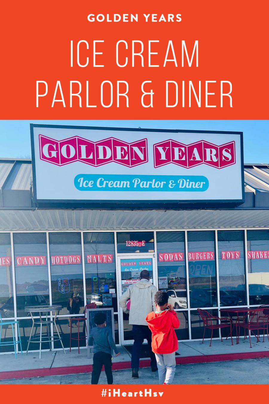 Golden Years Ice Cream Diner