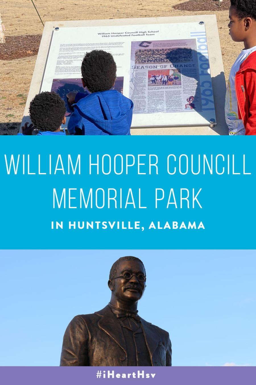 William Hooper Councill Park Pin