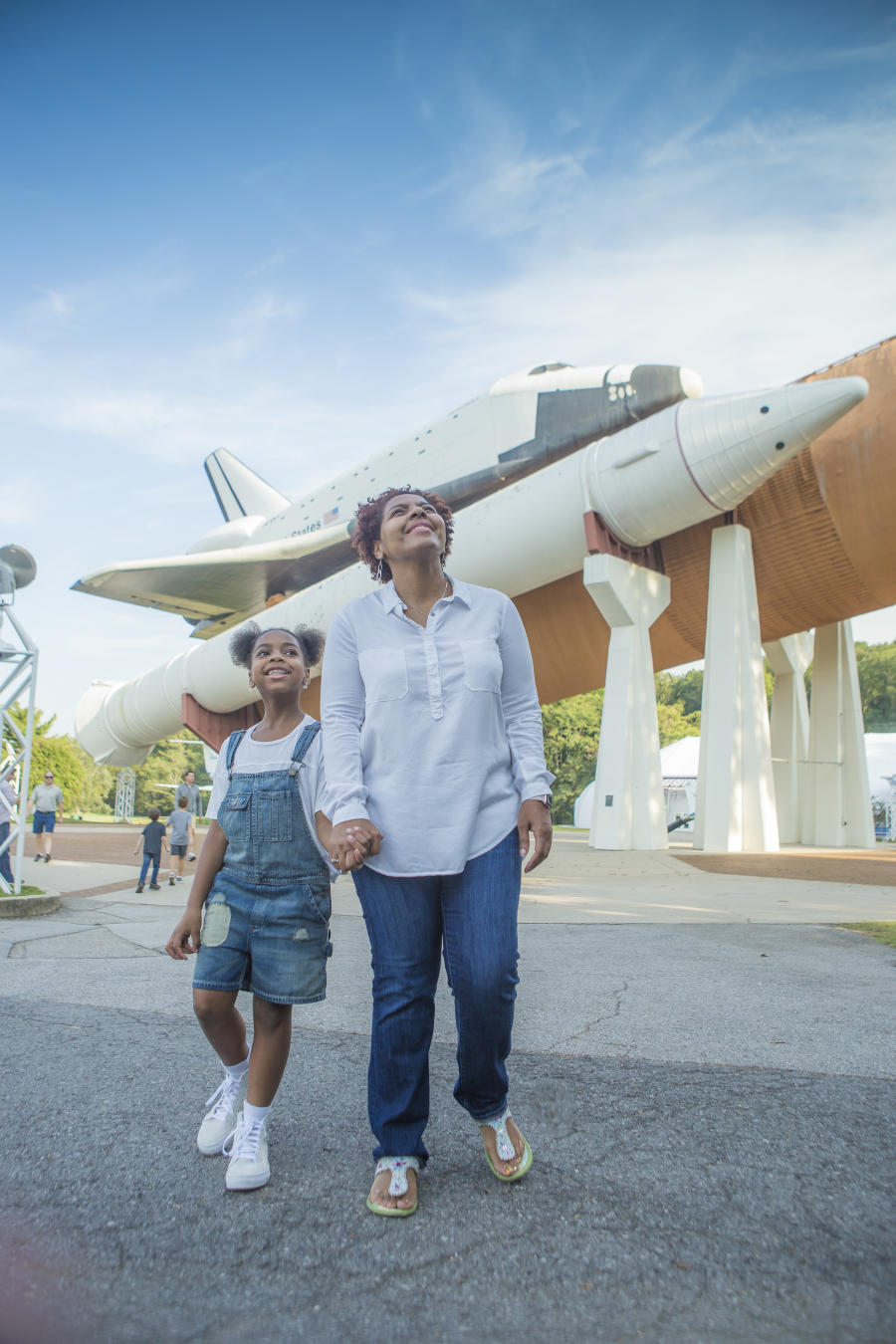 Family + US Space and Rocket Center + USSRC