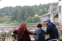 Riverfront at Siuslaw Coffee Roasters in Florence by Charlie Chul Jung