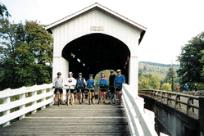 Covered Bridge Bike Tour by Randy Dreiling