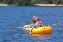 Rafting on Cleawox Lake by Magnoli Ortmann