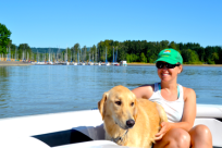 Fern Ridge Boating by Sally McAleer