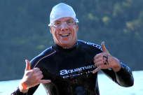 Triathlon Guy by Greg Lee