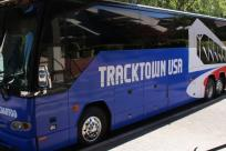 TrackTown Bus by Janelle Breedlove