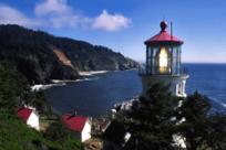 Heceta Head Lighthouse by Jeff Dimmick