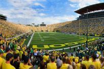 Autzen Stadium, University of Oregon Duck Football Game, Eugene, Willamette Valley by David Putzier