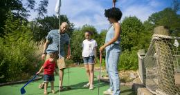 Mini Golf - Burke Lake Park - Family Friendly