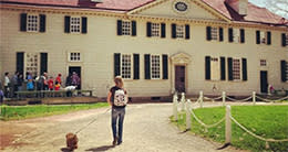 Dogs at Mount Vernon
