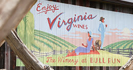 Winery at Bull Run - Enjoy Virginia Wine sign