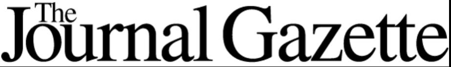 Journal Gazette Masthead