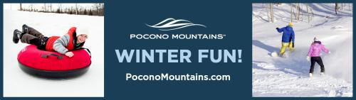 2020/21 PMVB Winter Co/Op - Billboard - Pocono Mountains Visitors Bureau