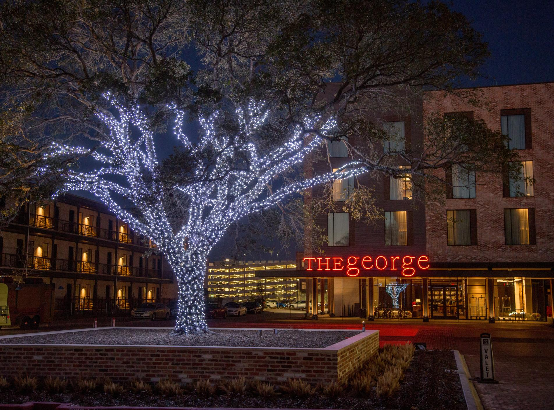 The George Christmas Lights