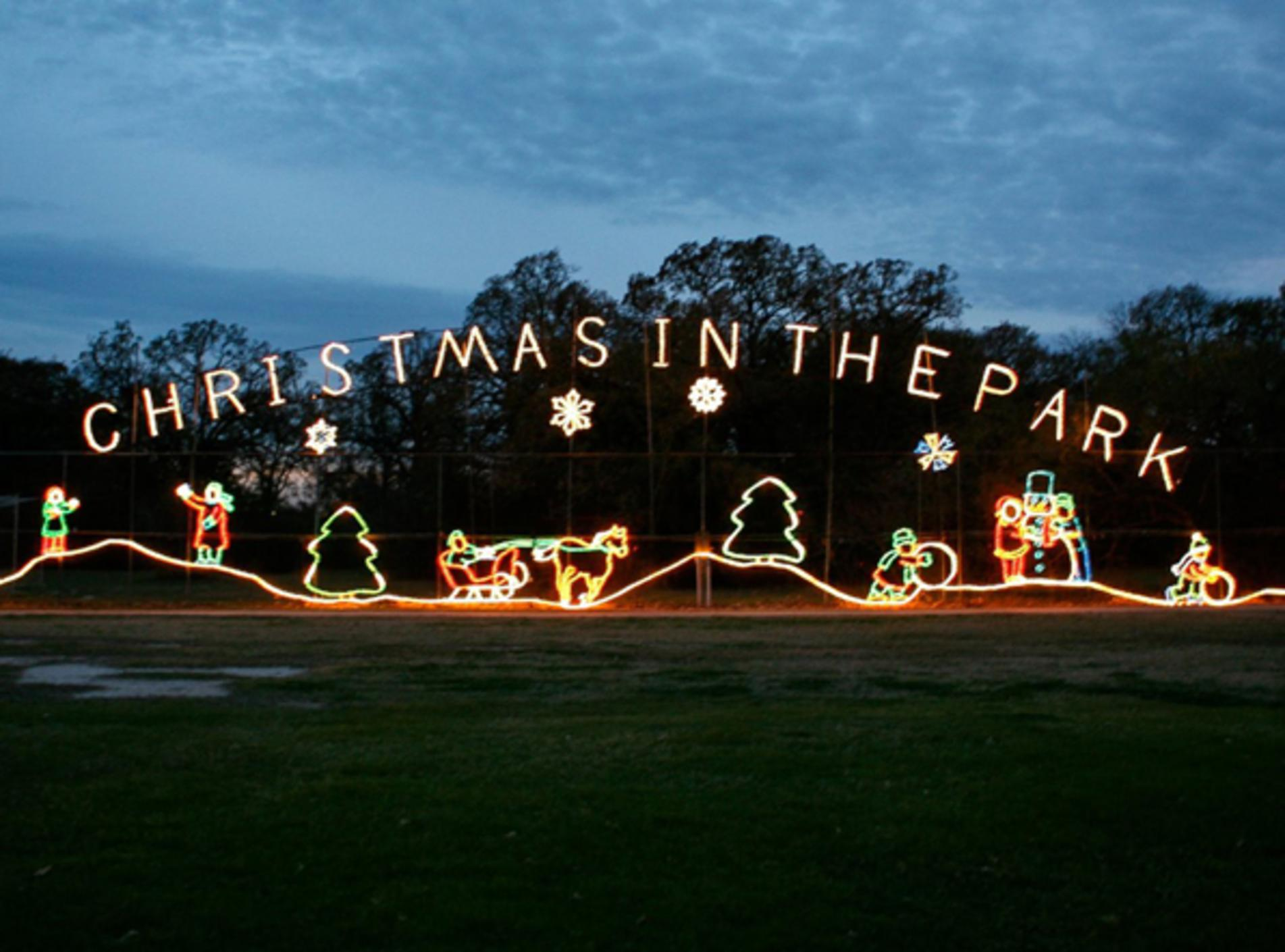 Christmas in the Park at Stephen C. Beachy Central Park